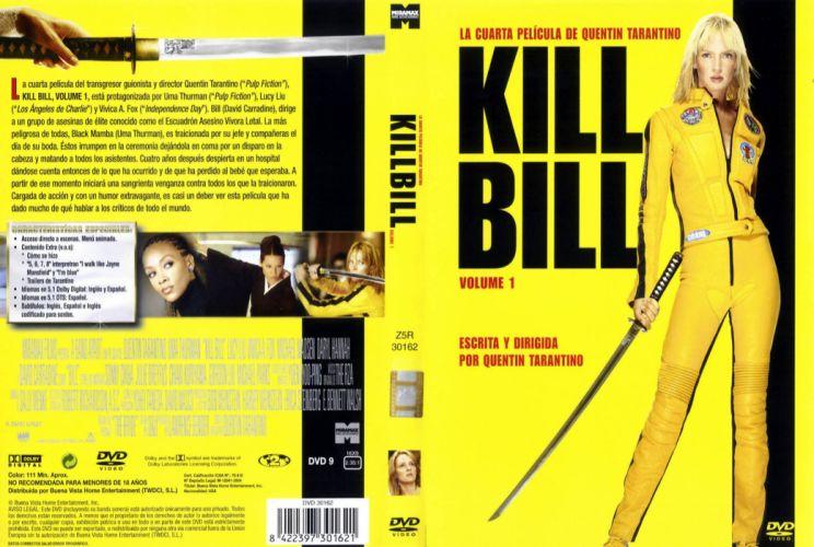 KILL BILL action crime martial arts poster fs wallpaper