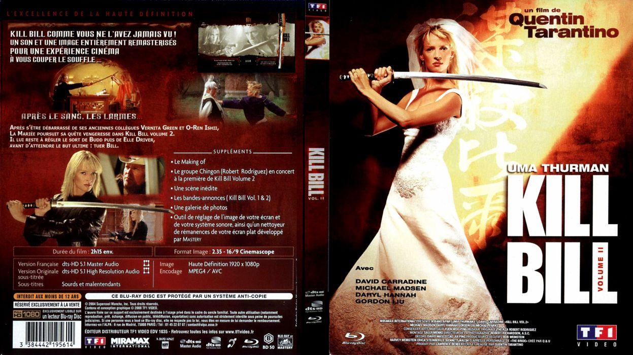 KILL BILL action crime martial arts poster    hf wallpaper