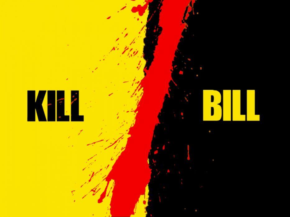 KILL BILL action crime martial arts poster blood   g wallpaper