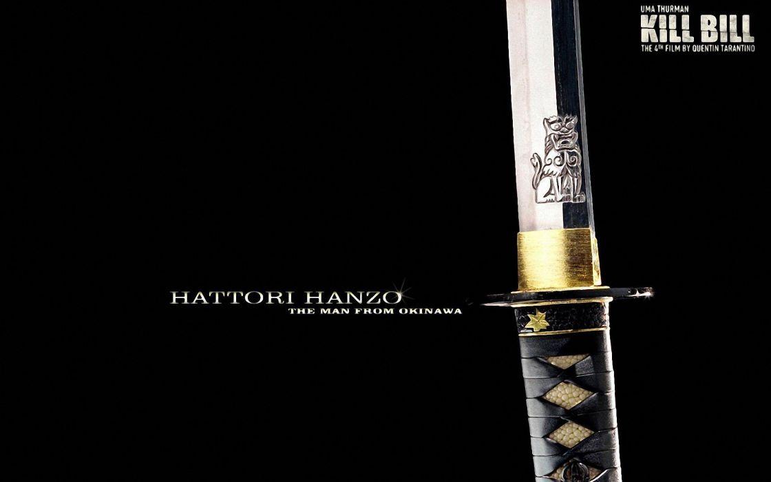 KILL BILL action crime martial arts warrior katana sword poster    f wallpaper