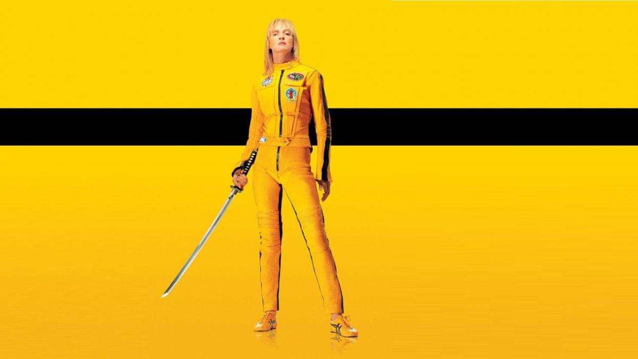 KILL BILL action crime martial arts warrior weapon katana sword     s wallpaper
