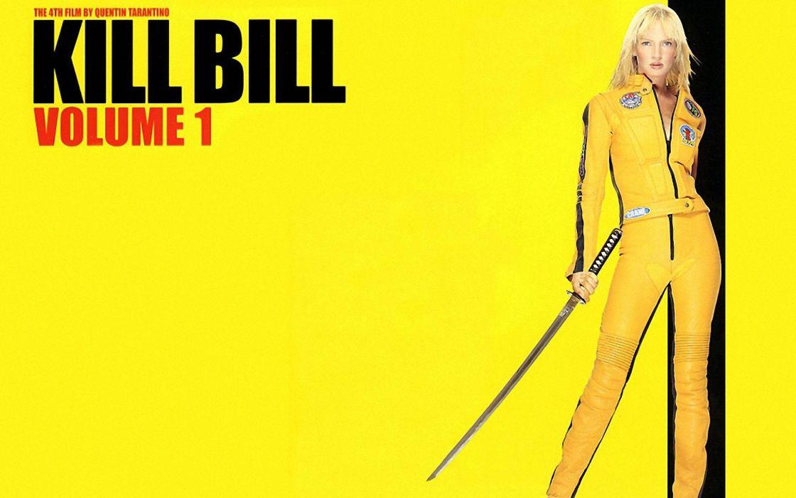 KILL BILL action crime martial arts warrior weapon katana sword poster   c wallpaper