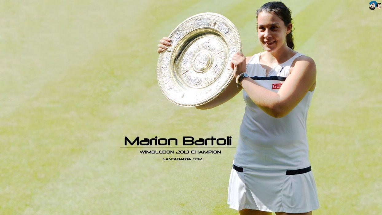 tennis Wimbledon marion wallpaper
