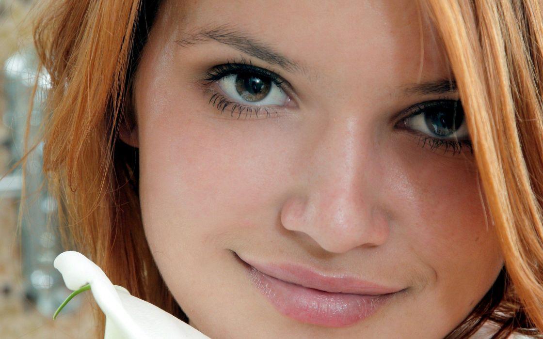 women redheads models Violla A wallpaper