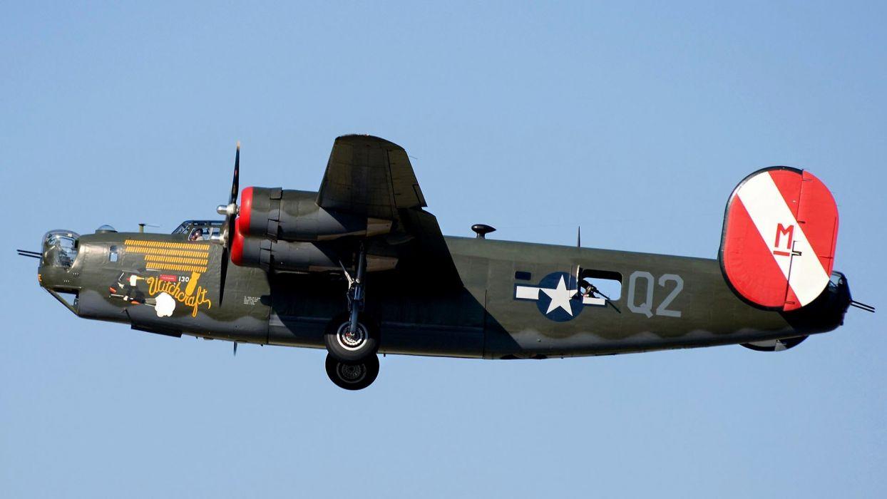 aircraft bomber Witchcraft Warbird wallpaper