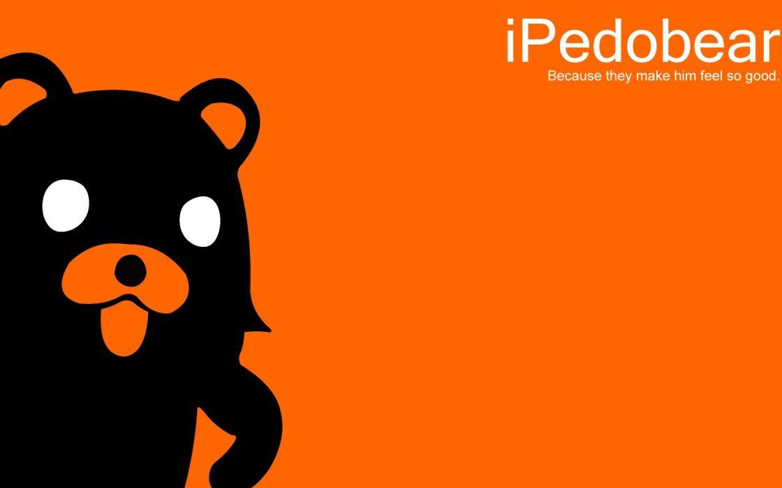 Pedobear iPod wallpaper