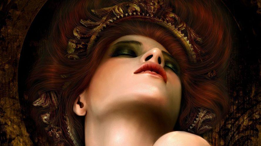 women fantasy art digital art wallpaper