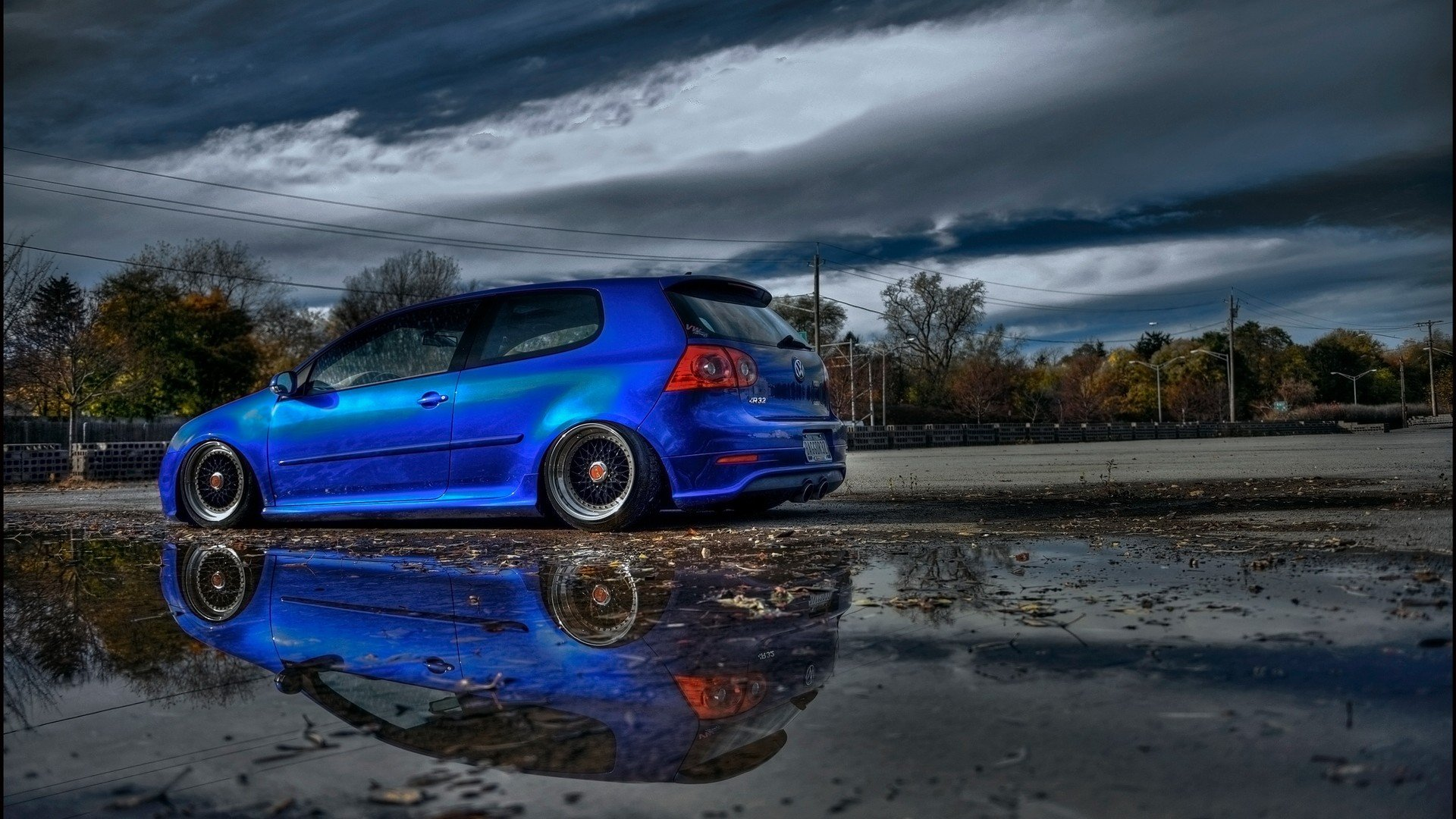 Cars Vehicles Transportation Wheels Volkswagen Golf GTI R32 Automobiles Wallpaper