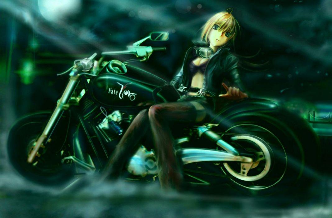 Saber  Fate/Zero Fate series wallpaper