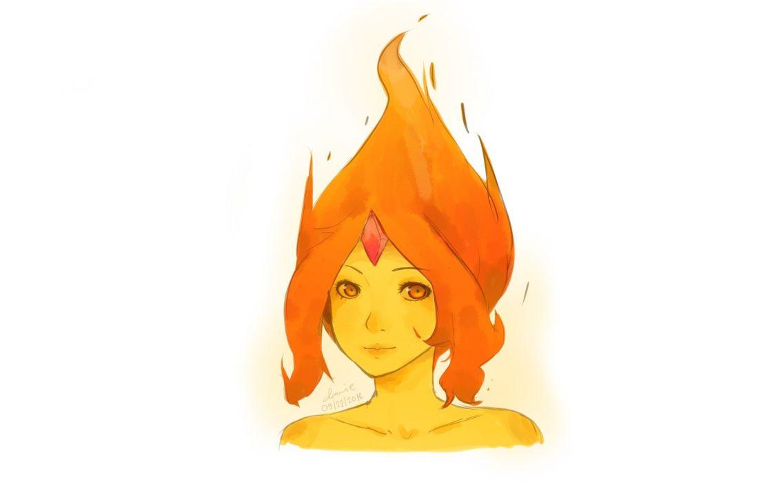 women fire wallpaper