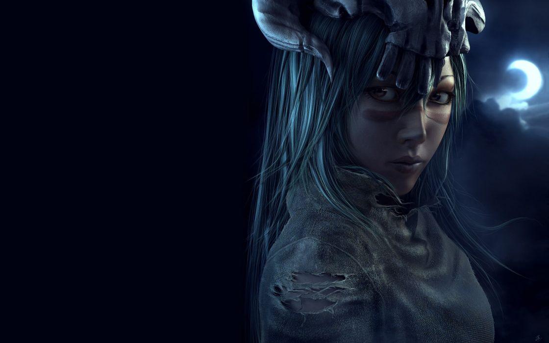 Bleach Espada Nelliel Tu Odelschwanck realistic 3D renders anime girls wallpaper