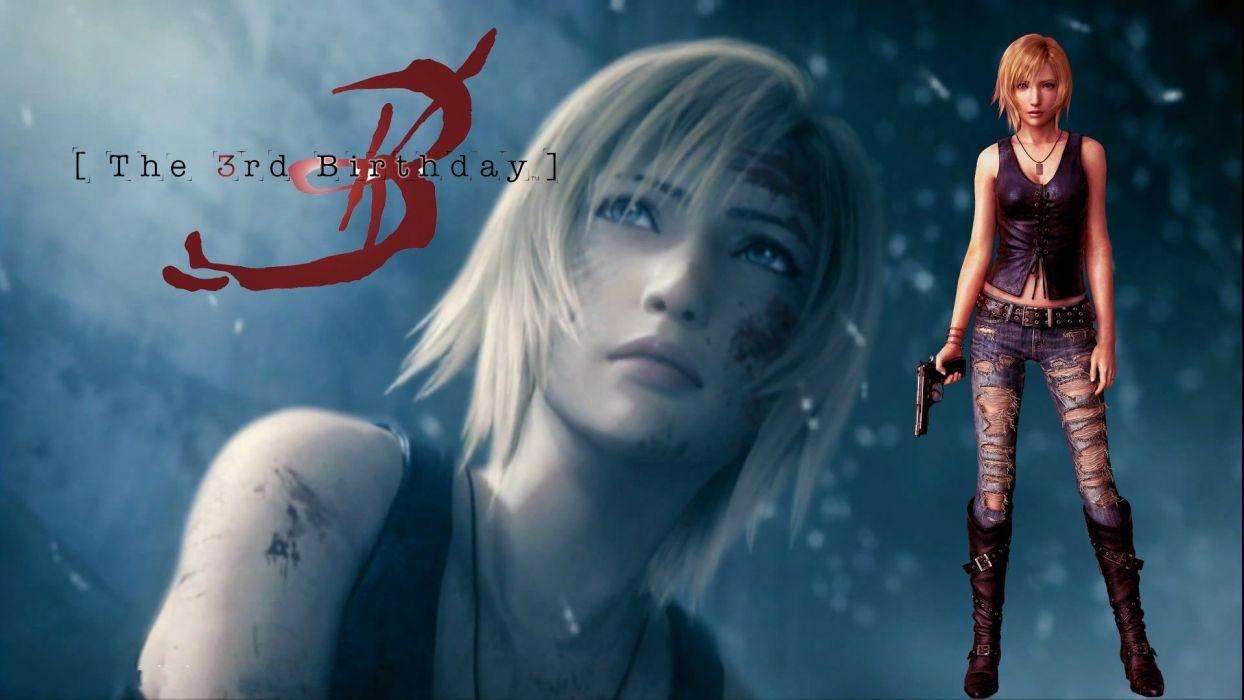 video games Parasite Eve Square Enix wallpaper