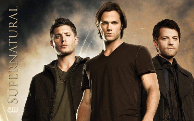 Supernatural Castiel Jensen Ackles Jared Padalecki TV series Misha Collins Dean Winchester Sam Winchester wallpaper