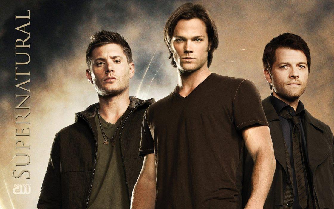 Supernatural Castiel Jensen Ackles Jared Padalecki TV Series Misha Collins Dean Winchester Sam Wallpaper
