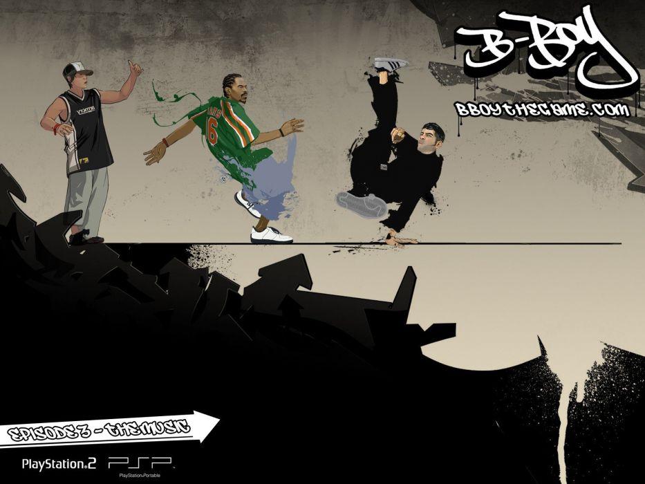 dance dancers dancing breakdancing b-boy B-Boy the Game street dance wallpaper