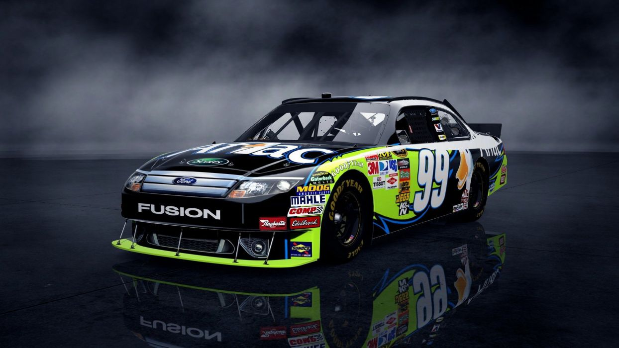 cars vehicles Nascar wheels Ford Fusion automobiles wallpaper