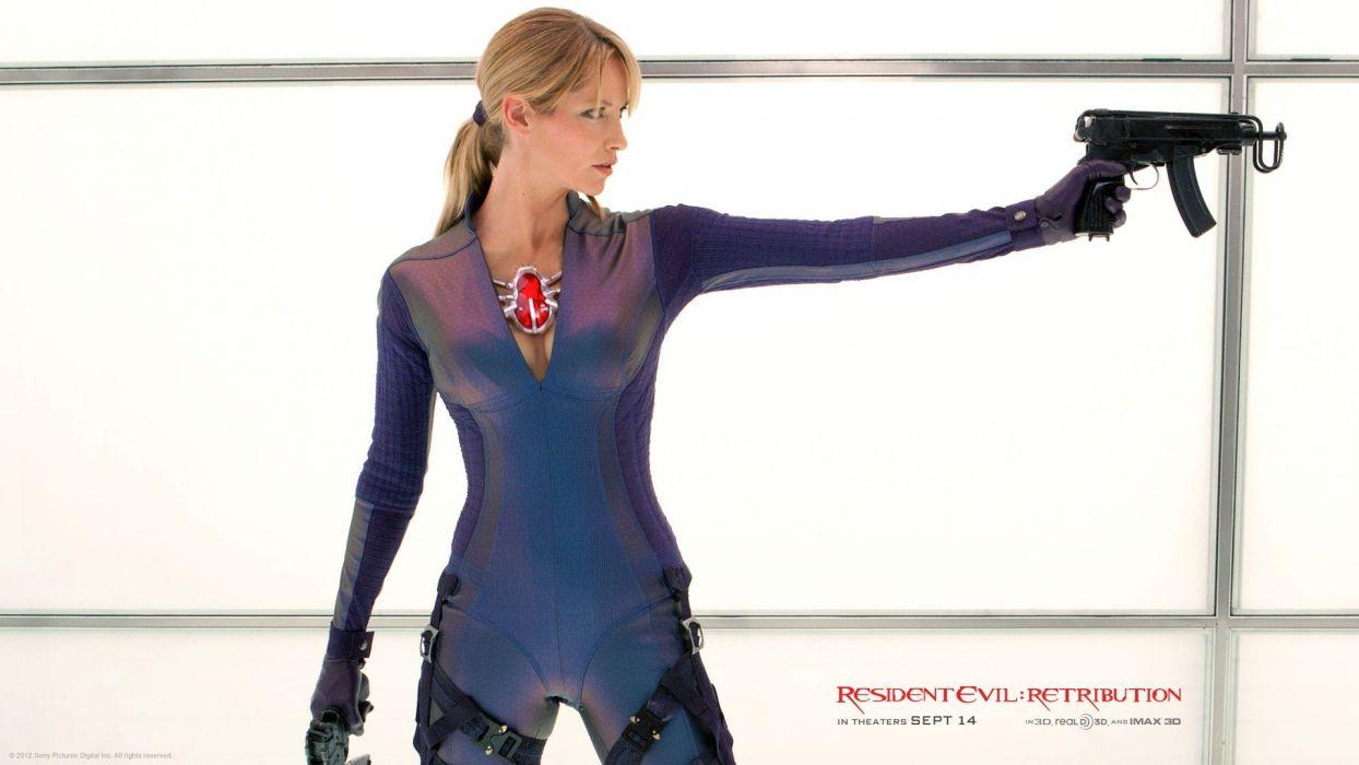 Jill Valentine Resident Evil Retribution Wallpaper 1920x1080