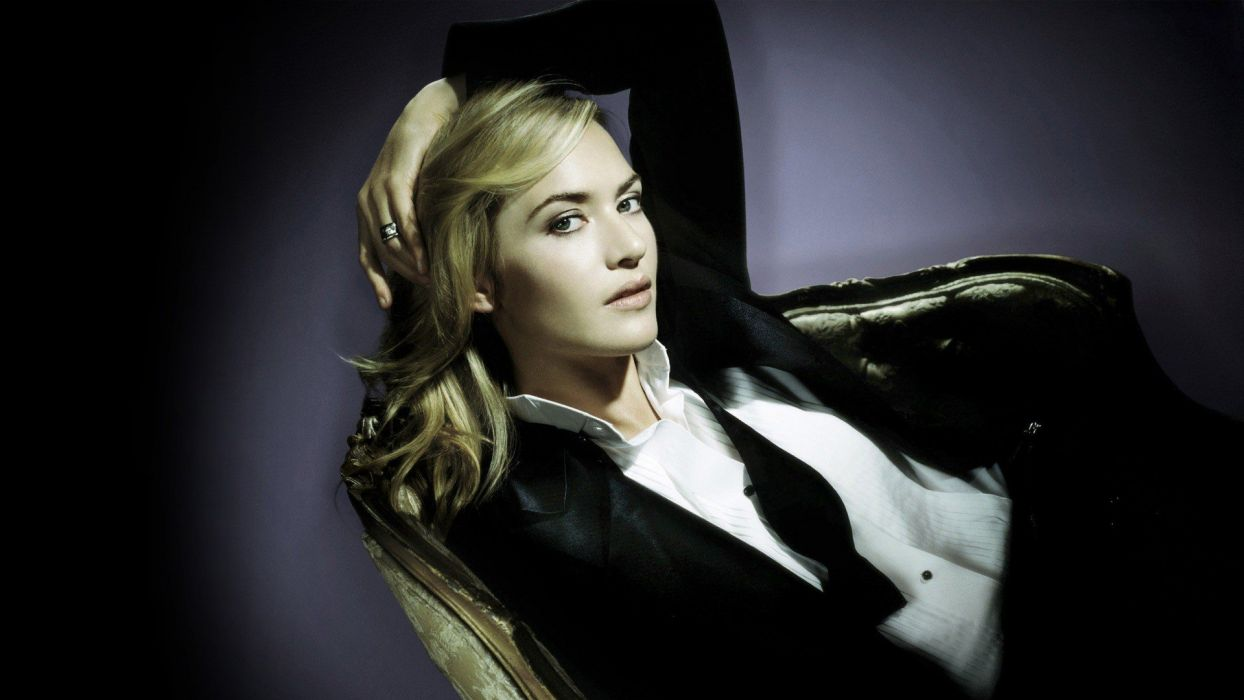 blondes women Kate Winslet celebrity wallpaper
