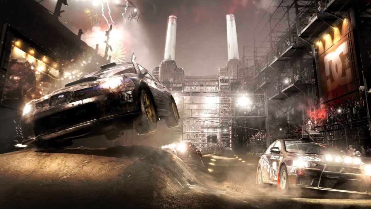 video games Codemasters Dirt video game Colin McRae wallpaper