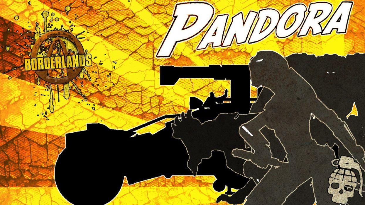 Borderlands pandora wallpaper