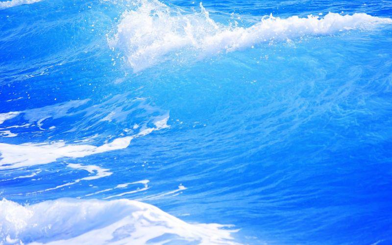 water waves DeviantART wallpaper