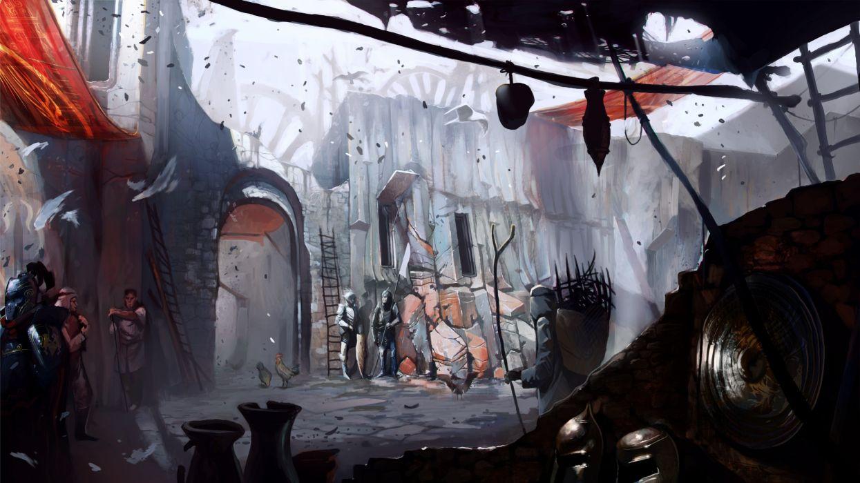 video games market Dragon Age 2 wallpaper