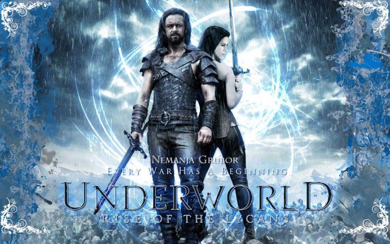 UNDERWORLD action fantasy thriller dark poster f wallpaper