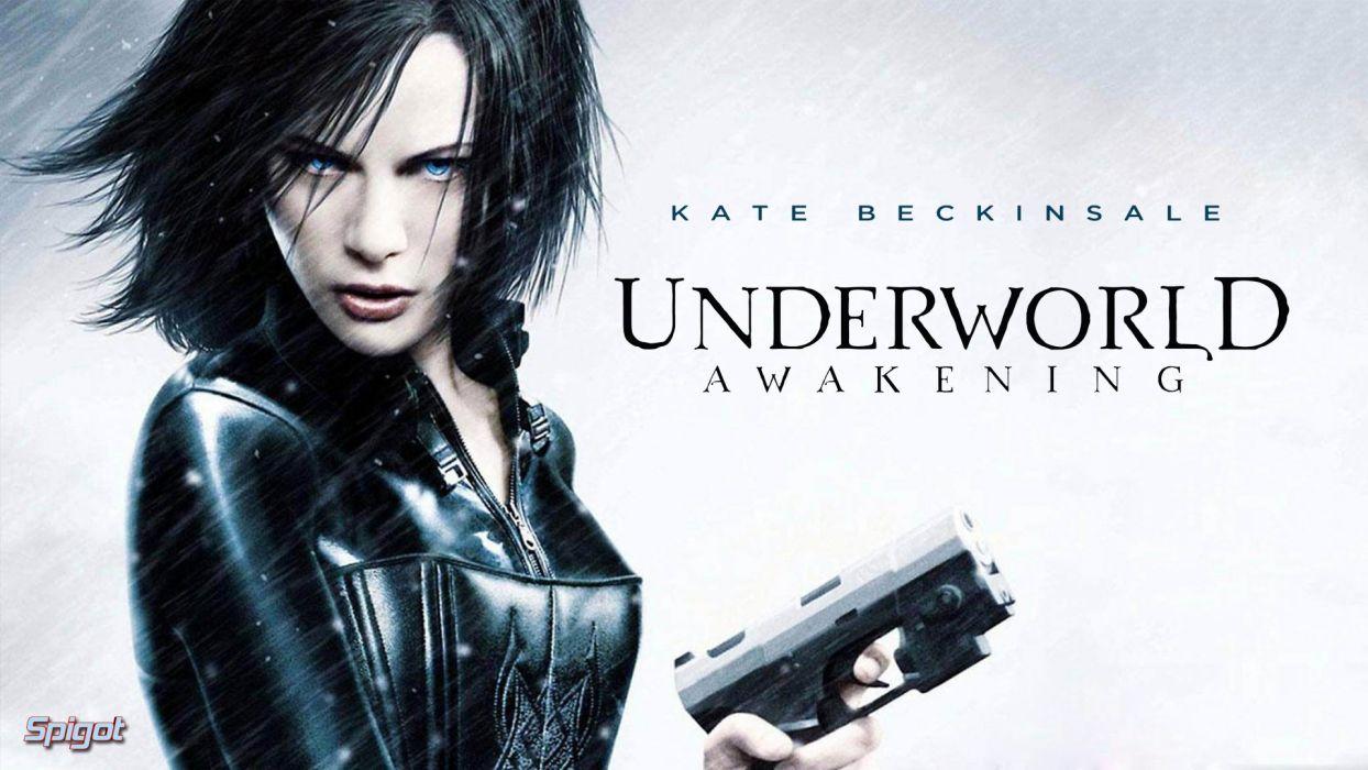 UNDERWORLD action fantasy thriller dark vampire kate beckinsale   h wallpaper