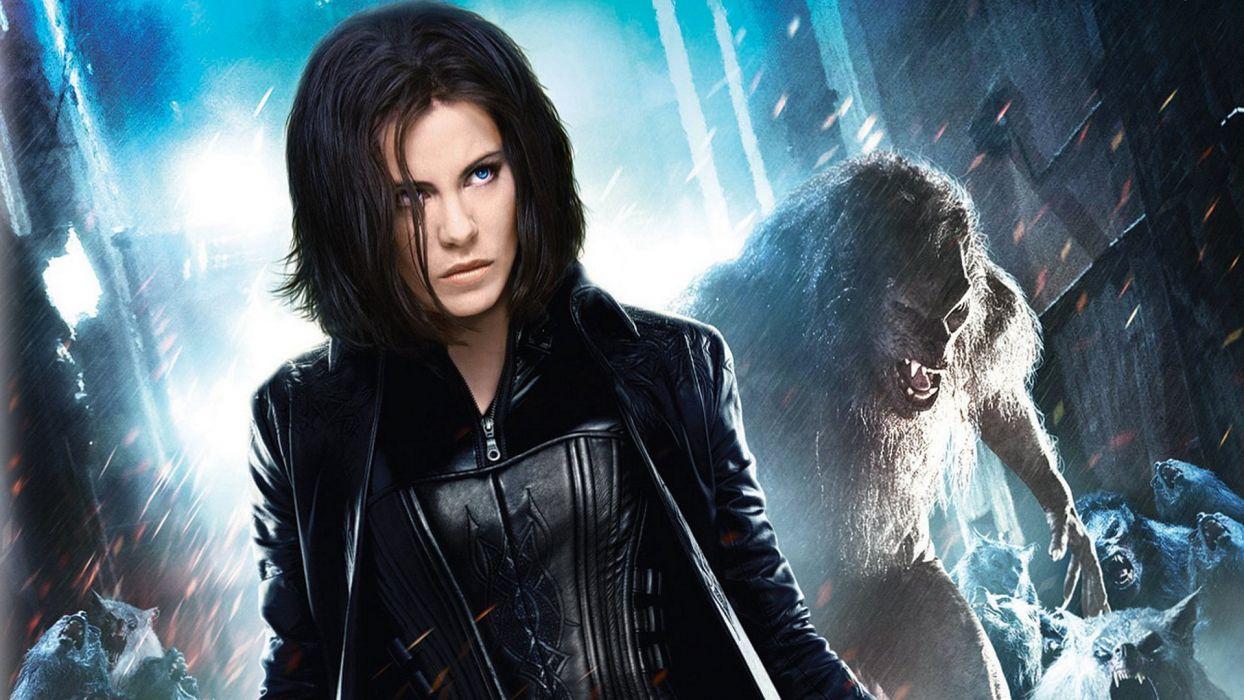UNDERWORLD action fantasy thriller dark vampire lycan werewolf      f wallpaper