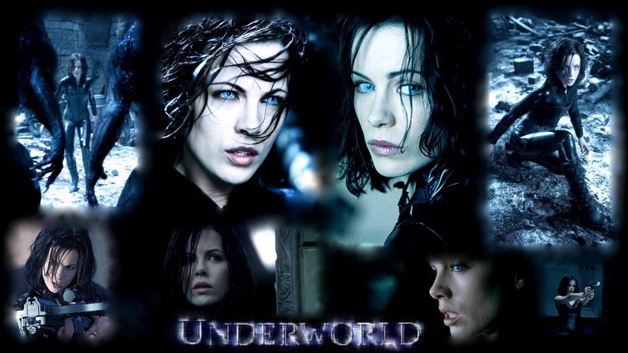 UNDERWORLD action fantasy thriller dark vampire poster  x wallpaper