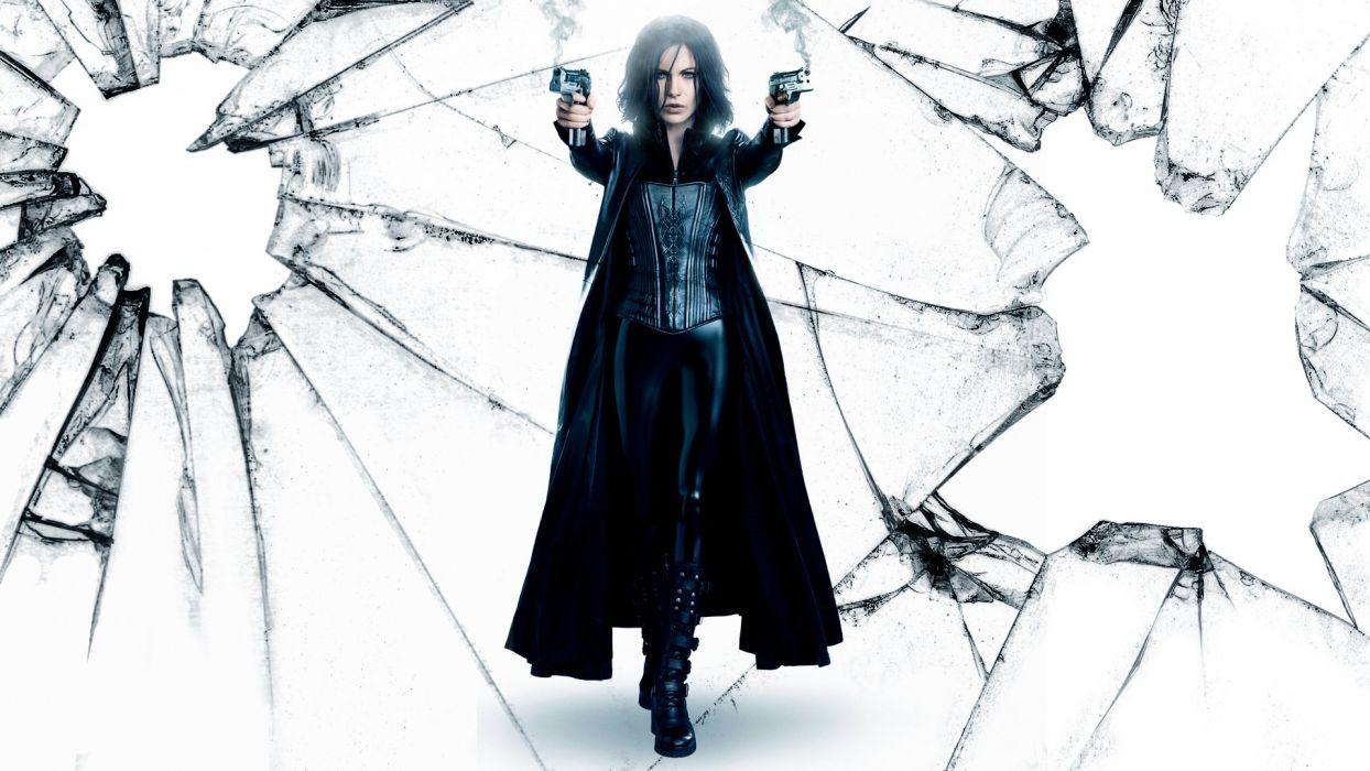 UNDERWORLD action fantasy thriller dark vampire warrior weapon gun pistol      g wallpaper
