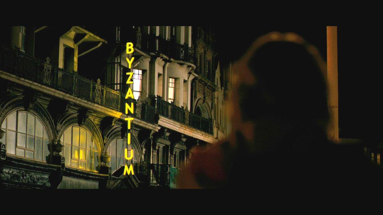 BYZANTIUM drama fantasy horror dark thriller   ds wallpaper