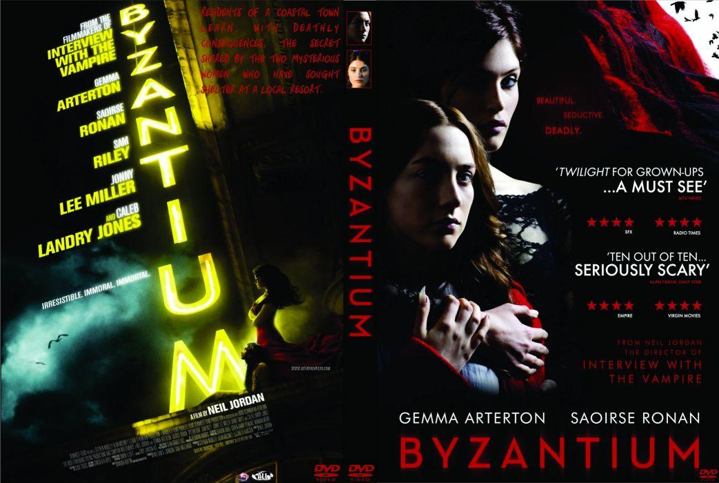 BYZANTIUM drama fantasy horror dark thriller vampire poster  f wallpaper