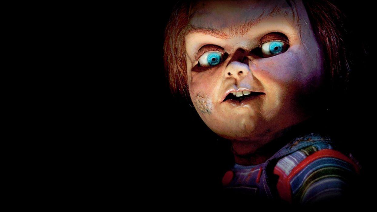 CHILDS PLAY chucky dark horror creepy scary (2) wallpaper