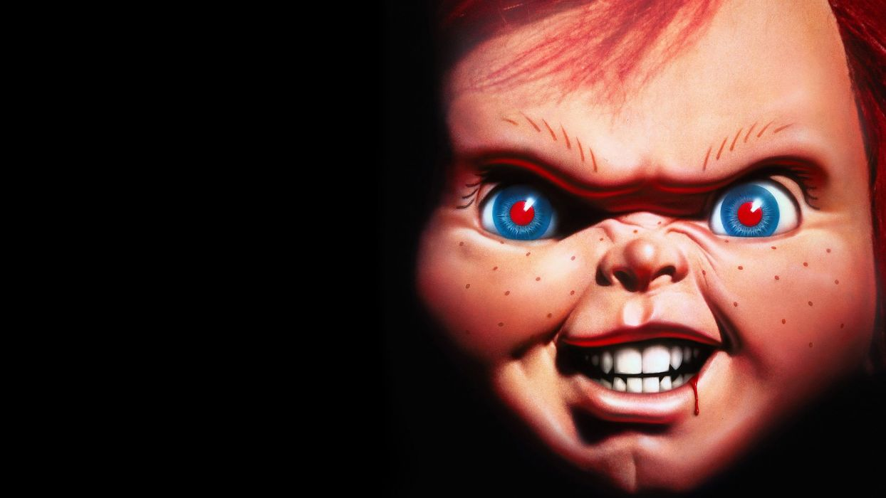 CHILDS PLAY chucky dark horror creepy scary (4) wallpaper