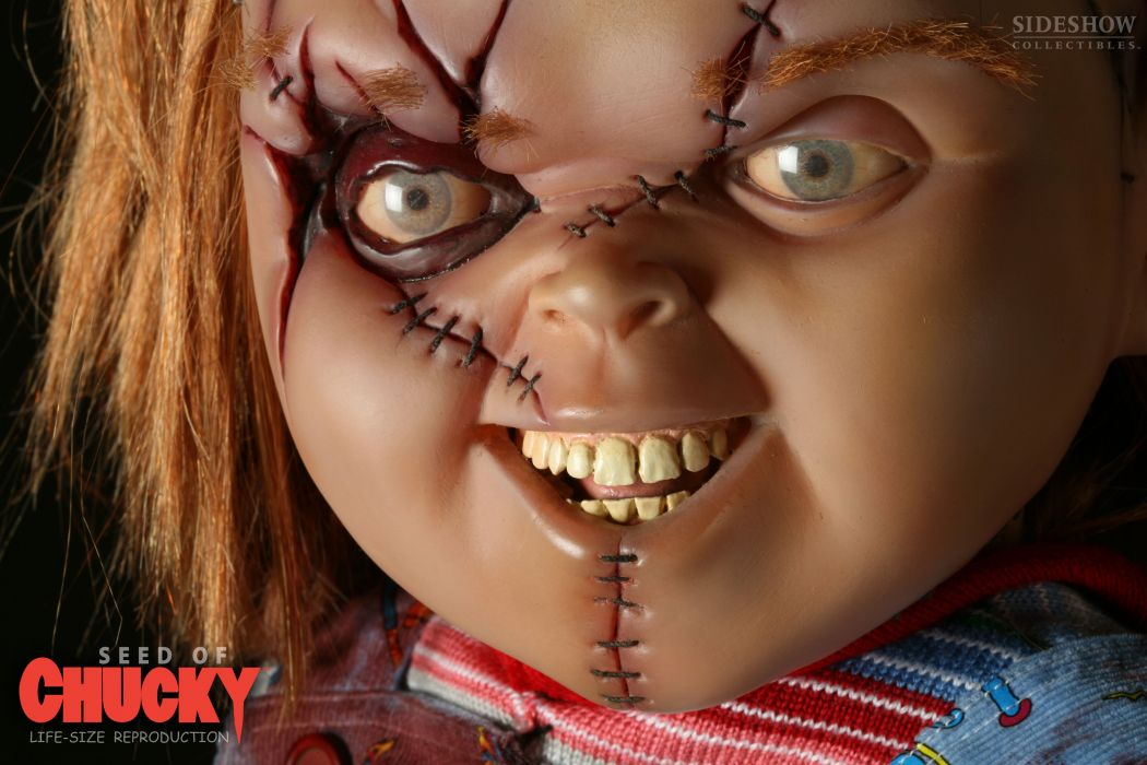 CHILDS PLAY chucky dark horror creepy scary (5) wallpaper