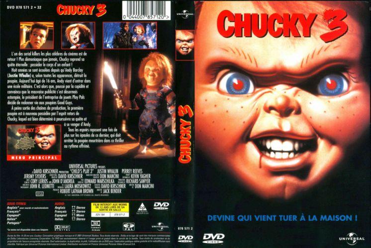 CHILDS PLAY chucky dark horror creepy scary (7) wallpaper