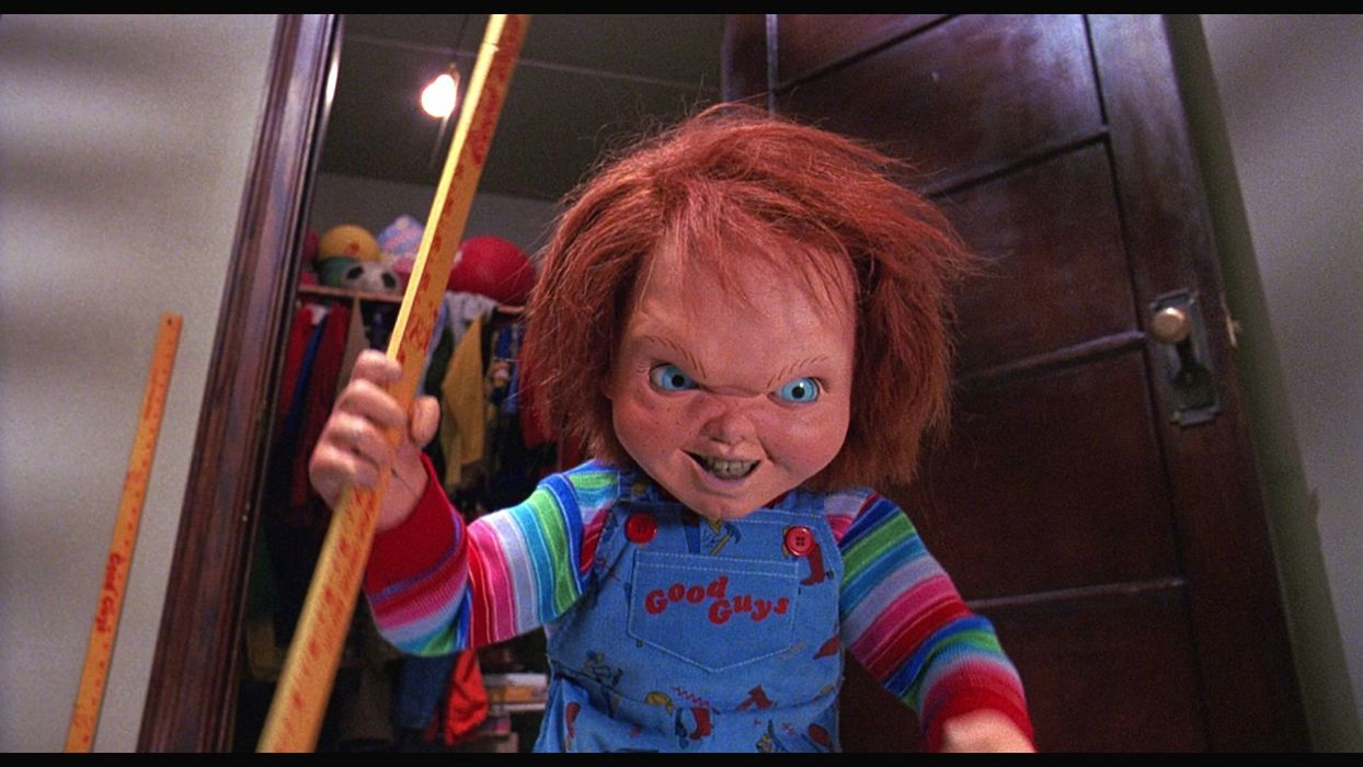 CHILDS PLAY chucky dark horror creepy scary (8) wallpaper