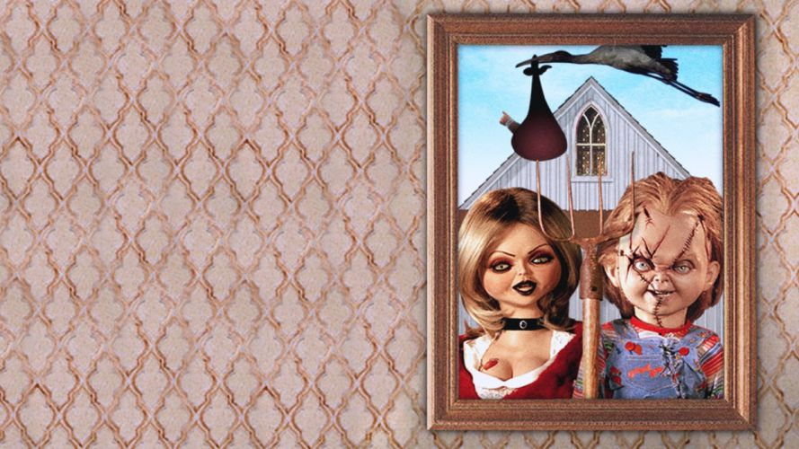 CHILDS PLAY chucky dark horror creepy scary (23) wallpaper