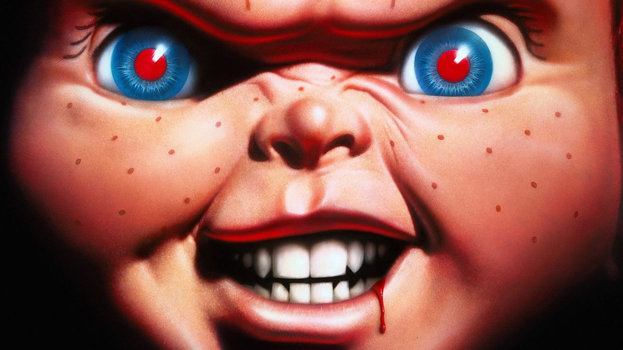 CHILDS PLAY chucky dark horror creepy scary (31) wallpaper