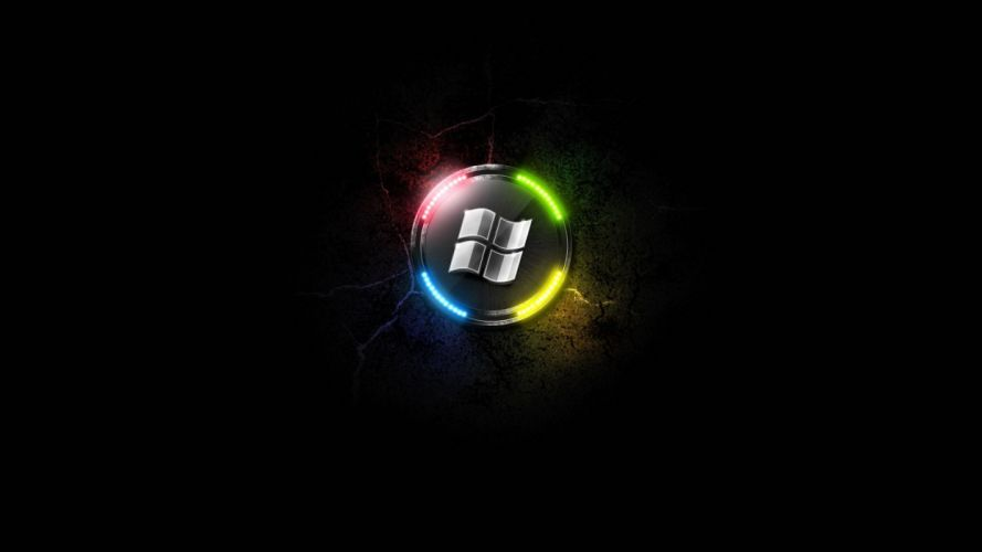 technology Microsoft Microsoft Windows logos wallpaper