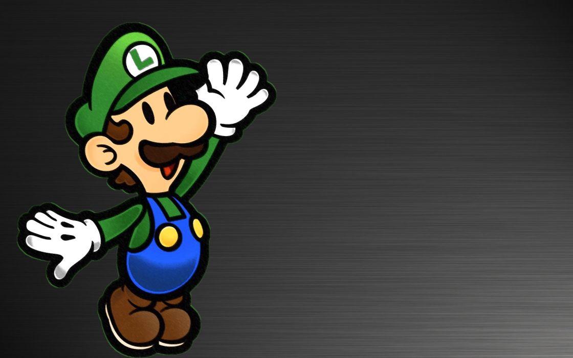 Super Mario Luigi weegee wallpaper