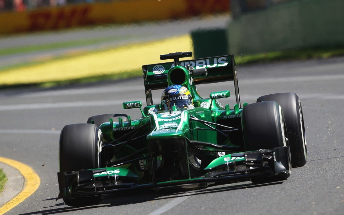 Formula One races bolids wallpaper