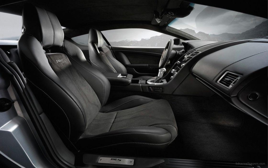 cars interior vehicles Aston Martin DBS Aston Martin aston wallpaper