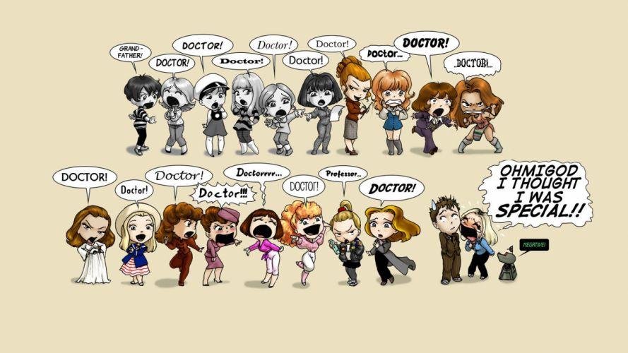 Companions Doctor Who wallpaper