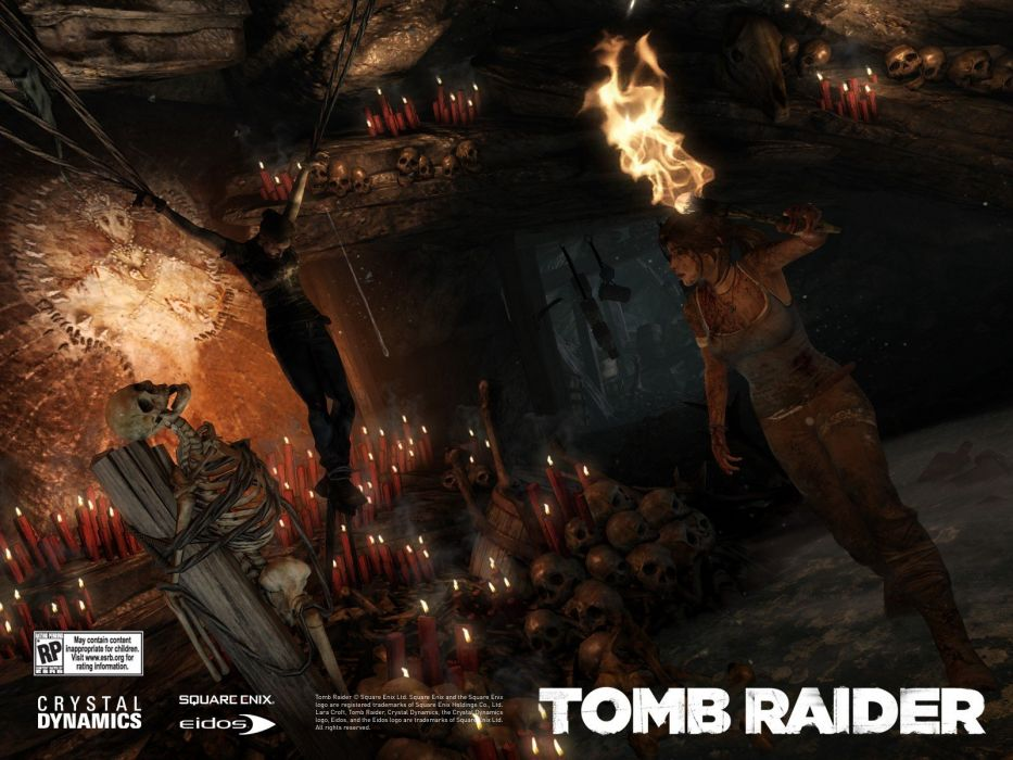 video games Tomb Raider wallpaper
