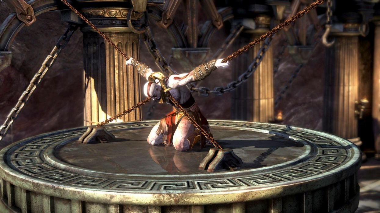 Kratos god of war ascension wallpaper 2560x1440 235686 kratos god of war ascension wallpaper voltagebd Image collections