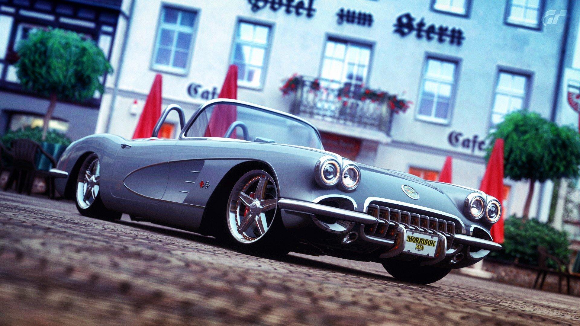 Video Games Cars Chevrolet Corvette Gran Turismo 5 Races