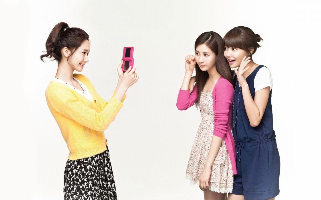 women Girls Generation SNSD celebrity Seohyun singers Im YoonA Choi Sooyoung wallpaper