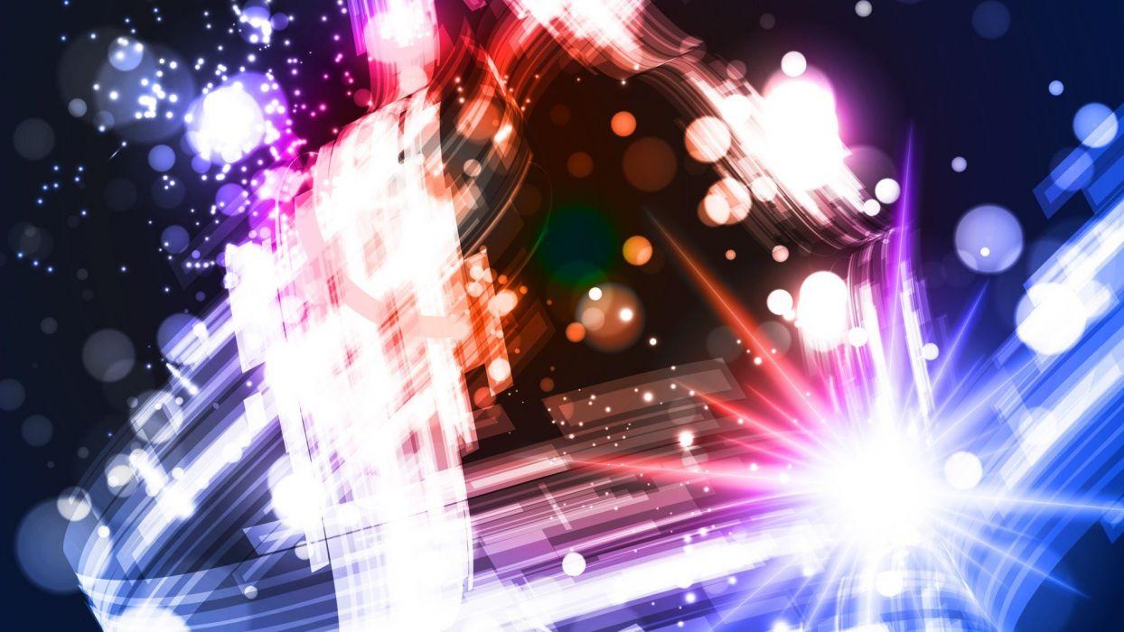 multicolor vectors bright illuminated graphics wallpaper